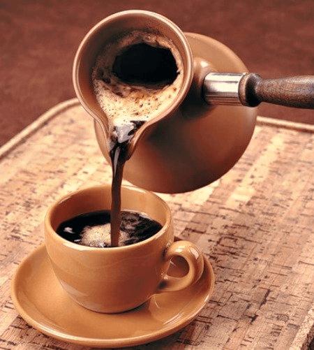 сварить кофе в турке
