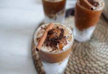 Холодный кофе с корицей и чили!