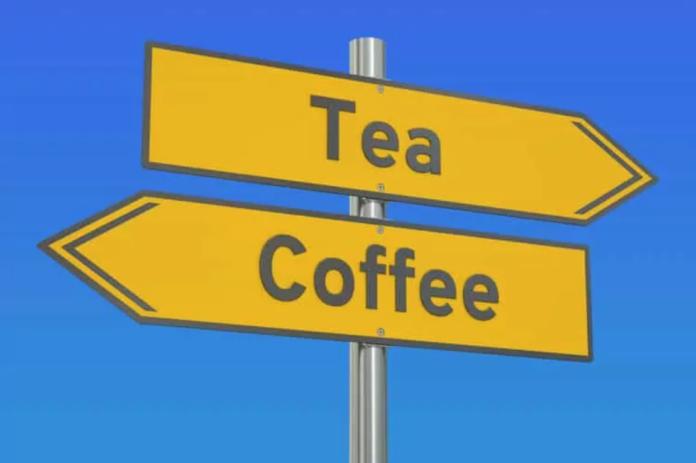В чае больше кофеина, чем в кофе?