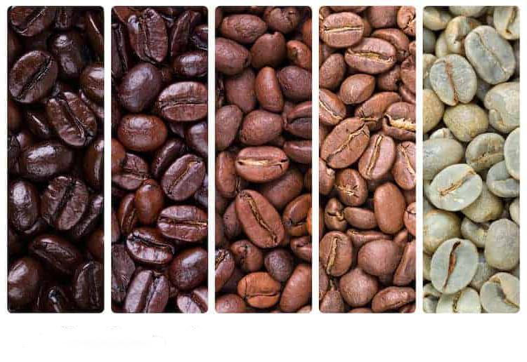 Темное жаркое против легкого жаркого с точки зрения кофеина